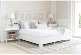 David Francis Furniture X and Diamond Standard Bed Size: King, Color: White
