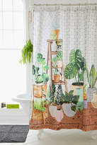 Urban Outfitters Plant Dreams Shower Curtain