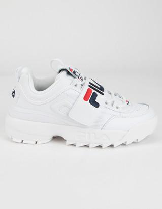 Fila Disruptor II Applique Womens Shoes