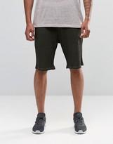 Asos Slim Jersey Shorts In Waffle Fabric