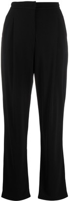 Emporio Armani Tailored Bootleg Suit Trousers