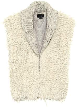 Isabel Marant Layden alpaca and wool vest