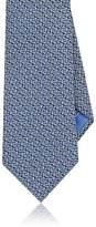 Brioni Men's Geometric Silk Jacquard Necktie