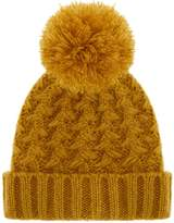 Accessorize Yarn Pom Beanie Hat