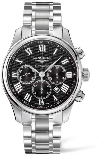 Longines Master Automatic Chronograph Bracelet Watch, 44mm