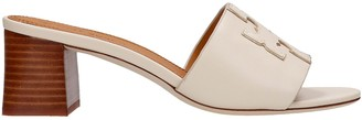 Tory Burch Ines Sandals In Beige Leather