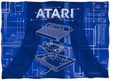 Atari Inside Out -- Game Console Pillow Case (Front/Back Print)