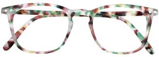 IZIPIZI Reading Glasses Collection E Green Tort +2