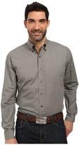 Stetson Odyssey Print Long Sleeve Woven Button Shirt