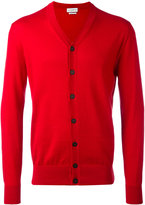 Ballantyne V-neck cardigan - men - Cotton/Cashmere - 48