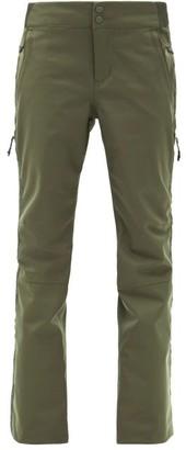 Holden Alpine Zipped-cuff Soft-shell Ski Trousers - Dark Green