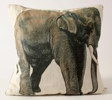 The Well Appointed House Elephant Linen Pillow