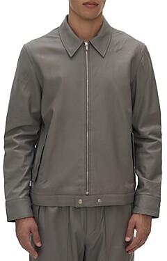 Helmut Lang Sartorial Steel Leather Jacket
