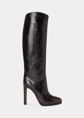 Ralph Lauren Remmy Calfskin Boot