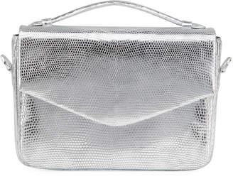 Nancy Gonzalez Lucy Metallic Snakeskin/Lizard Crossbody Bag
