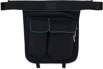 Twins Nylon Blend Belt Bag
