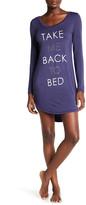 Junk Food Clothing Take Me Back to Bed Sleep Shirt