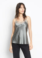 Vince Silk Lace Trimmed Cami