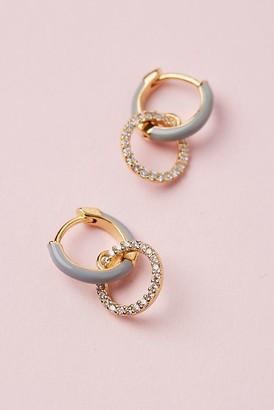 Elle Double Hoop Earrings