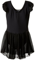 Capezio Flutter Sleeve Dress (Toddler/Little Kids/Big Kids)