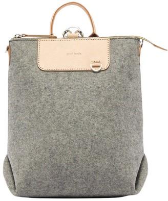 Graf Lantz Granite & Natural Mini Felt Bedford Backpack
