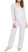 Make + Model Women's Knit Girlfriend Pajamas & Eye Mask