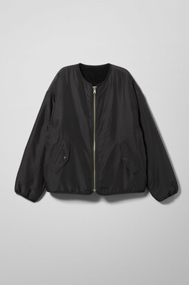 Weekday Candace Reversible Jacket - Black