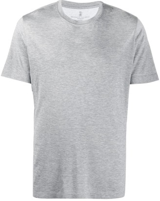 Brunello Cucinelli Silk/Cotton Blend T-Shirt
