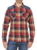 Esprit Woven Shirt Shirts woven Red / Blue
