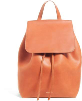 Mansur Gavriel Brandy Backpack - Brick