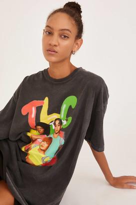 Urban Outfitters TLC Airbrush T-Shirt Dress