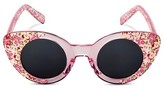 Circo Toddler Girls' Floral Cateye Sunglasses Pink OSFM