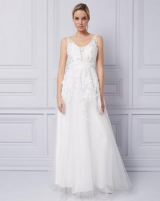 Le Château 3D Floral Gown