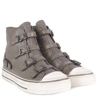 Ash Virgin Buckle Trainers In Perkish - 37