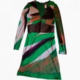 Gianni Versace Green Dress for Women Vintage