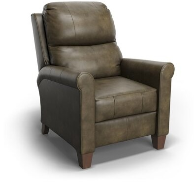 """Thumbnail for your product : Southern Motion 33"""" Wide Power Wing Chair Recliner Body Fabric: St. Laurent Taupe, Reclining Type: Manual"""