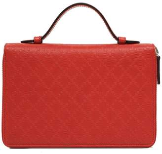 Gucci Hilary Lux Travel Document Case Diamante Red
