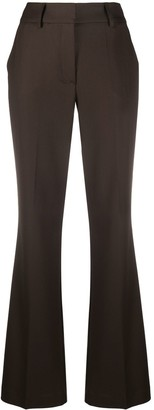 P.A.R.O.S.H. High Waisted Flared Trousers