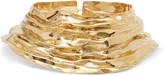 Annelise Michelson Draped gold-plated choker