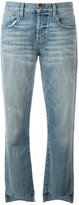 Current/Elliott straight-leg jeans - women - Cotton/Polyester/Spandex/Elastane - 24