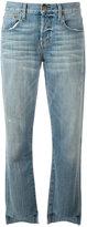 Current/Elliott straight-leg jeans - women - Cotton/Polyester/Spandex/Elastane - 28