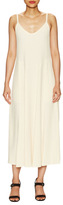 Helmut Lang Seamed Slip Maxi Dress