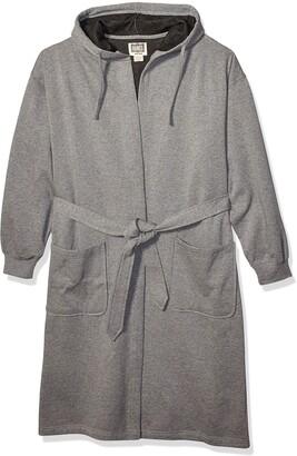 Hanes Men's Athletic Fleece Hooded Robe