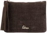 Castaner tassel detail clutch bag
