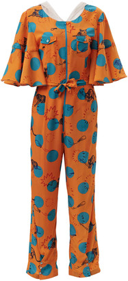 Hari Supersweet X Moumi Mata Onesie Balloons Orange