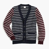 J.Crew Boys' cotton-cashmere mash-up cardigan sweater