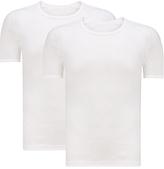 John Lewis Organic Cotton T-shirt Vest, White