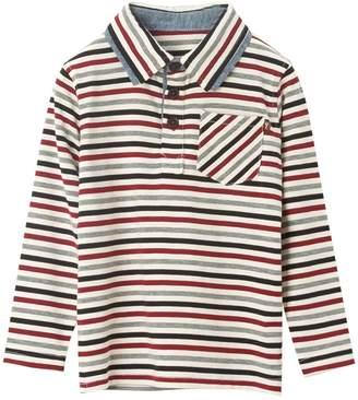 Hudson Baby Fore!! Axel & Boy's, Little Boy's & Boy's Multi-Stripe Polo