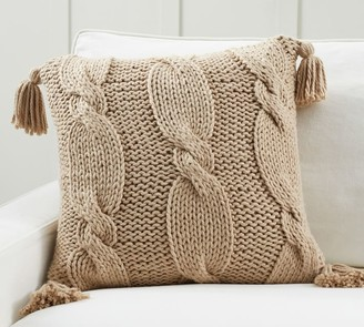 Pottery Barn Bluma Handknit Pillow Covers