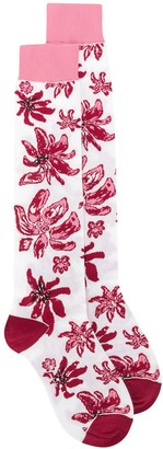 Marni Floral Knitted Socks
